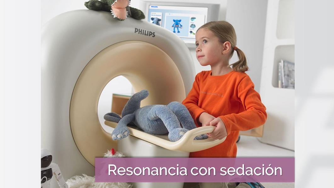 Resonancia con sedación IDACA pediatrico